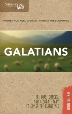 Shepherd's Notes: Galatians  -     By: Dana Gould