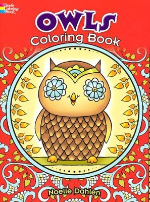 Owls Coloring Book  -     By: Noelle Dahlen