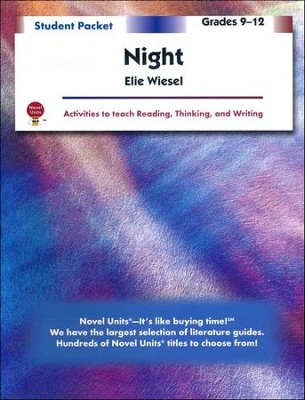 Night, Novel Units Student Packet, Grades 9-12   -     By: Elie Wiesel