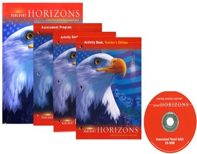 Harcourt Horizons Grade 5 Homeschool Package with Parent Guide CD-ROM  -