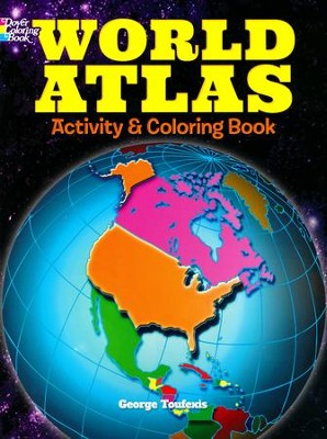 World Atlas Activity and Coloring Book  -     By: George Toufexis