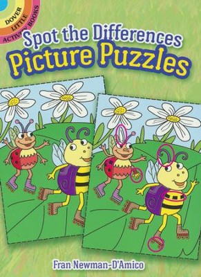 Spot the Differences Picture Puzzles  -     By: Fran Newman-D'Amico