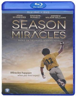 Season of Miracles, Blu-ray/DVD Combo   -