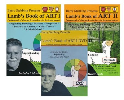 Lambs Book of Art 1 & 2 Bundle (with DVD)   -