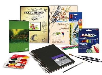 Nature Drawing & Journaling Bundle (with DVDs)   -
