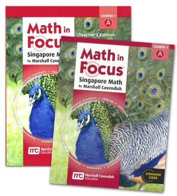 Math In Focus Course 1 for Grade 6 1st Semester Homeschool Kit  -     By: Marshall Cavendish