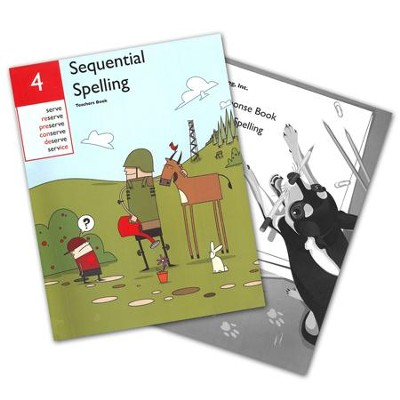 Sequential Spelling Level 4 Teacher's Guide & Student Response Book, Revised Edition  -