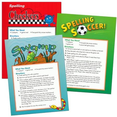 Zaner-Bloser Spelling Connections Grade 5: Game Mats  -