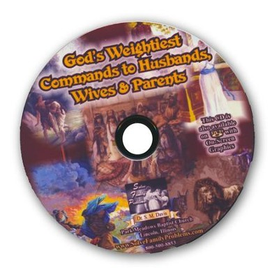 God's Weightiest Commands to Parents Audio CD  -     By: Dr. S.M. Davis