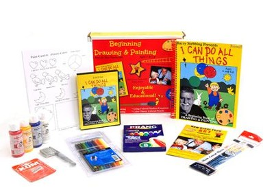 Beginning Drawing & Painting Kit, Ages 5 & Up: I Can  Do All Things  -     By: Barry Stebbing
