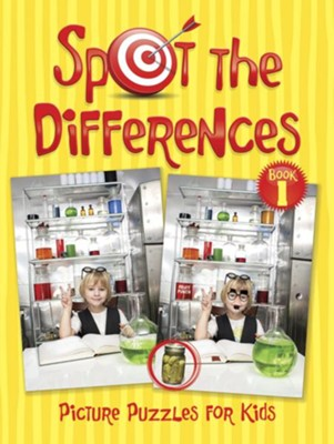 Spot the Differences Picture Puzzles for Kids  -     By: Peter Donahue