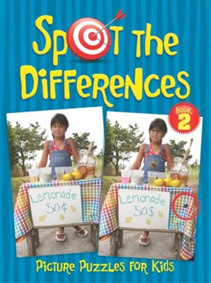 Spot the Differences Picture Puzzles for Kids 2  -     By: Sara Jackson