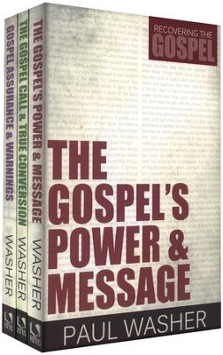Recovering the Gospel, 3 Volumes   -     By: Paul Washer