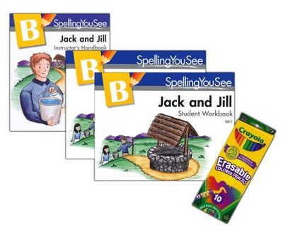 Spelling You See Level B: Jack and Jill Universal Set  -