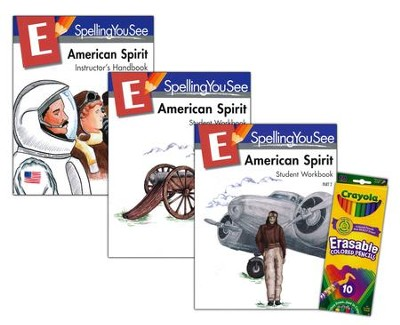 Spelling You See Level E: American Spirit Universal Set  -
