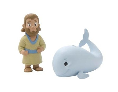 Jonah and the Big Fish Tales of Glory Play Set  -