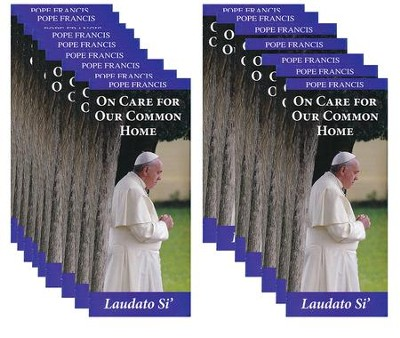 On Care for Our Common Home; Laudato Si' pack of 50   -     By: Pope Francis