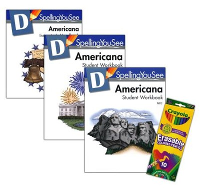 Spelling You See Level D: Americana Universal Set  -