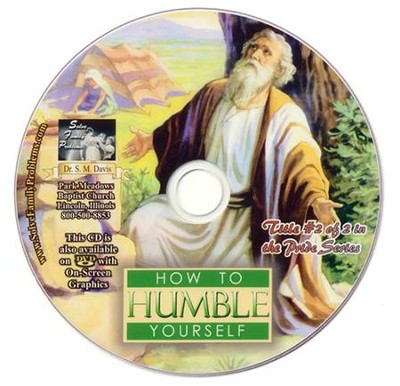 How to Humble Yourself Audio CD  -     By: Dr. S.M. Davis