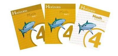 Horizons Math, Grade 4, Complete Set: 9780867178432 - Christianbook.com
