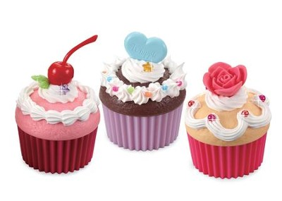 Whipple, Craft Creations, Puffy Cupcakes Set  -