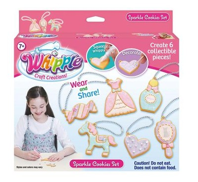 Whipple, Craft Creations, Sparkle Cookies Set  -
