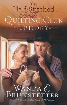 The Half-Stitched Amish Quilting Club Trilogy - eBook  -     By: Wanda E. Brunstetter