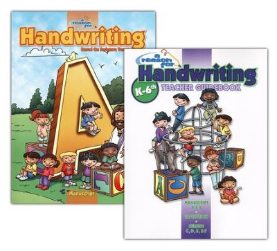 A Reason for Handwriting, Level A: Manuscript, Complete Homeschool Set  -