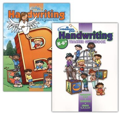 A Reason for Handwriting, Level B: Manuscript, Complete Homeschool Set  -