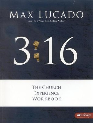 3:16 The Church Experience Workbook  -     By: Max Lucado