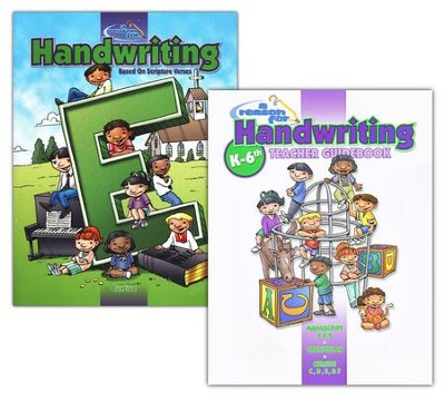 A Reason for Handwriting, Level E: Cursive, Complete Homeschool Set  -