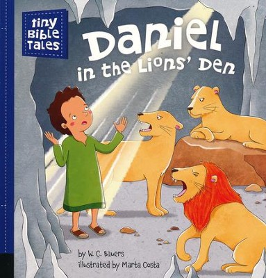 Daniel in the Lions' Den  -     By: W.C. Bauers