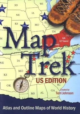 Map Trek, U.S. Edition on CD-ROM   -     By: Terri Johnson