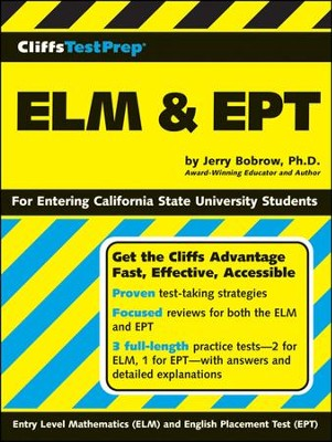 CliffsTestPrep ELM & EPT  -     By: Jerry Bobrow