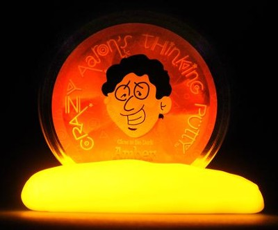 Amber Glow-In-the-Dark Putty  -