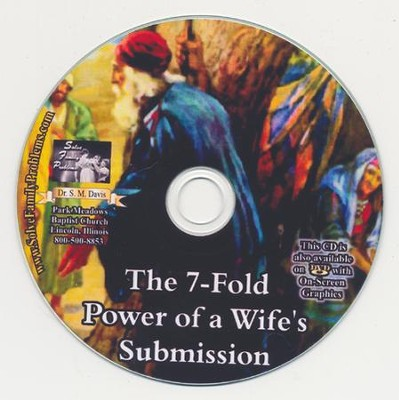 The 7-Fold Power of a Wife's Submission Audio CD  -     By: Dr. S.M. Davis