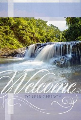 Welcome to Our Church - Welcome Folder (Pack of 12)  -