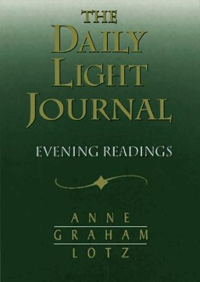 Daily Light Journal: Evening Readings / Special edition - eBook  -     By: Anne Graham Lotz