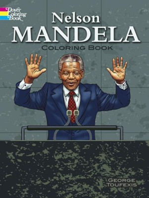 Nelson Mandela Coloring Book  -     By: George Toufexis