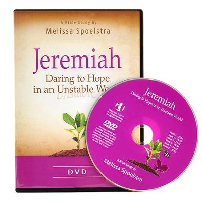 Jeremiah - Women's Bible Study DVD: Daring to Hope in an Unstable World  -     By: Melissa Spoelstra