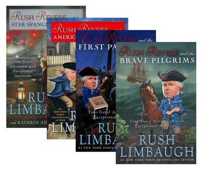 Time Travel Adventures, 4 Volumes  -     By: Rush Limbaugh
