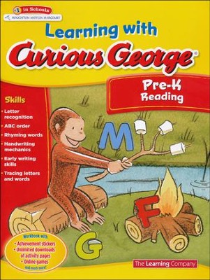 Learning with Curious George Preschool Reading  -