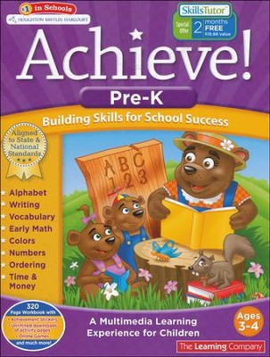 Achieve!: Pre-Kindergarten: Building Skills for School Success  -