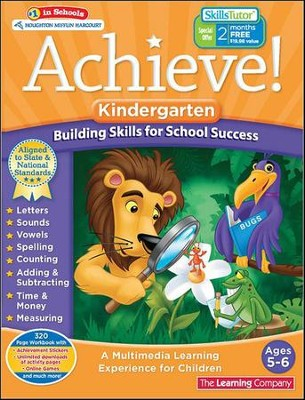 Achieve!: Kindergarten: Building Skills for School Success  -