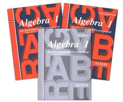 Saxon Algebra 1 Home Study Kit Third Edition  -