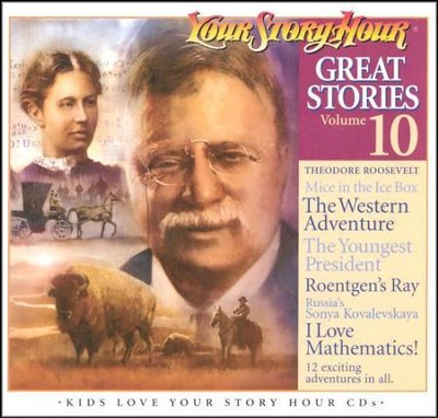 Great Stories, Volume #10 - Audiobook on CD  -