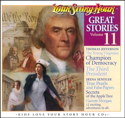 Great Stories, Volume #11 - Audiobook on CD  -