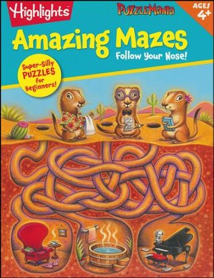 Follow Your Nose! (Amazing Mazes)  -