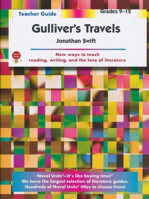 Gulliver's Travels, Novel Units Teacher's Guide, Grades 9-12   -     By: Jonathan Swift