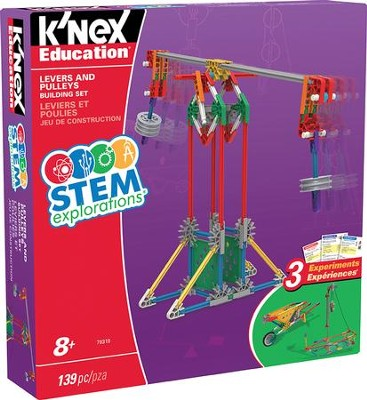 Stem Explorations: Levers and Pulleys Building Set  -